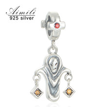 Silver Attraction 2016 Classic Evil Pendant For Hanger Voor Ketting Jewelry MakingDiy Viko Jewellery S211-30
