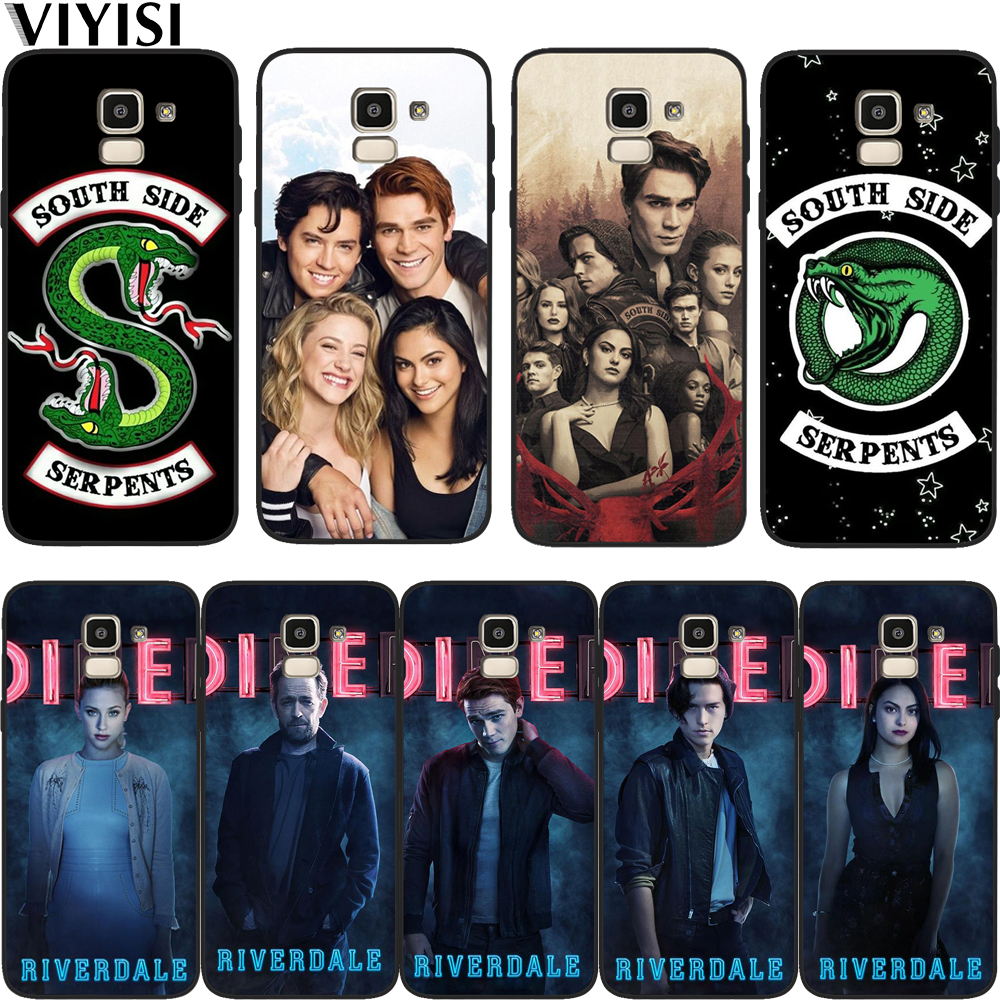 Phone Case For <font><b>Samsung</b></font> Galaxy S10 American TV Riverdale Jughead Jones For <font><b>samsung</b></font> s8 S7 S9 J7 2017 J4 <font><b>J6</b></font> J8 <font><b>Plus</b></font> <font><b>Coque</b></font> Etui image