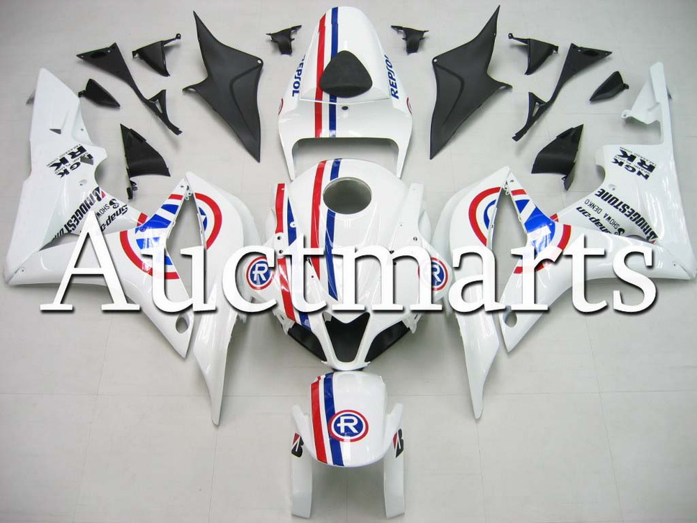 For Honda CBR 600 RR 2007 2008 Injection  ABS Plastic motorcycle Fairing Kit Bodywork CBR 600RR 07 08 CBR600RR CBR600 RR CB15