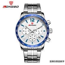 Sports de plein air montres Mâle Multi Fonctionnelle hommes de montres Six yeux trois broches en acier bande loisirs Mode quartz Cadeau Montres