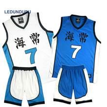 Anime Kuroko no Basuke cesta Cosplay Kaijo uniformes de la escuela Kise  Ryota hombres Jersey ropa 143586161bb99