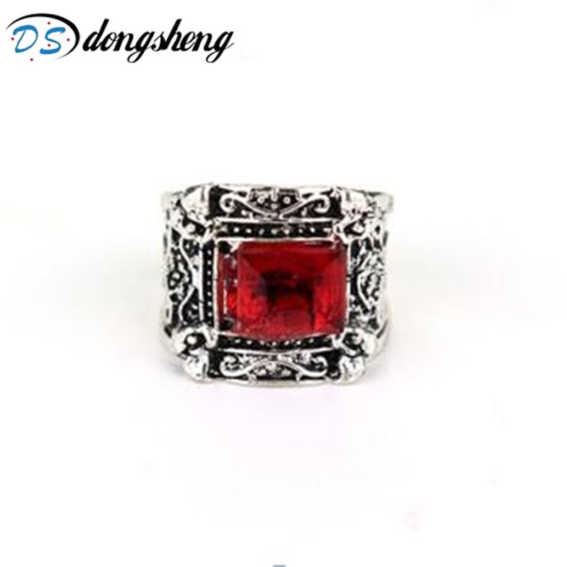 dongsheng The Mortal Instruments Ring City Of Angelic City of Bones Power Rune Shadowhunters Gaes For Fans Gift -25