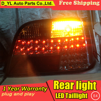 D_YL Car Styling for BMW E38 728 730 735 740 750 Rear Lights 1995-2002 E38 LED Tail Light Altis Rear Lamp DRL+Brake+Park+Signal image