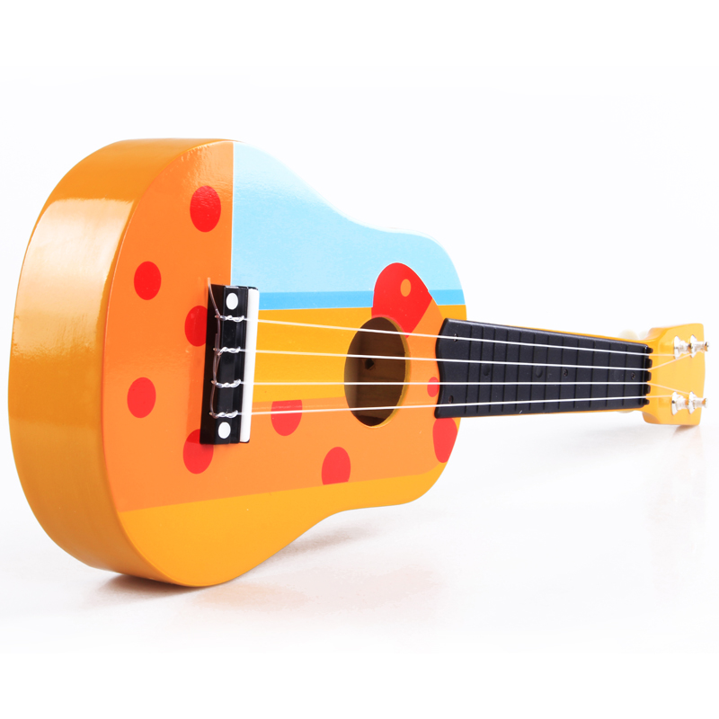Wooden Acustic Guitar Baby Toy Folk Guitar Small Guitar Mini Musical