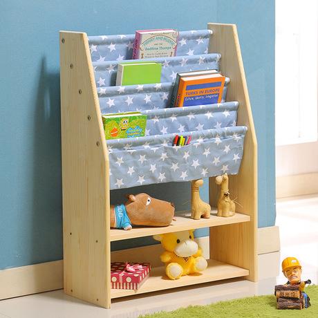 US $236.59 9% di SCONTO|Libreria per bambini Mobili Soggiorno Mobili Per La  Casa in legno massello bookshelf basamento di libro 90*28*63.5 centimetri  ...
