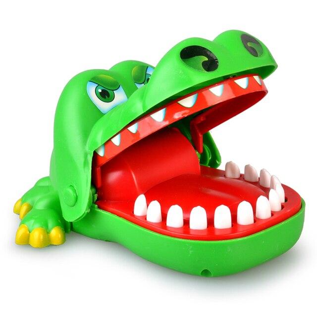 Novelty toys Crocodile Dentist Bite Finger Game Funny Novetly Crocodile Toy for Kids Gift Multiplayer toys Christmas gift
