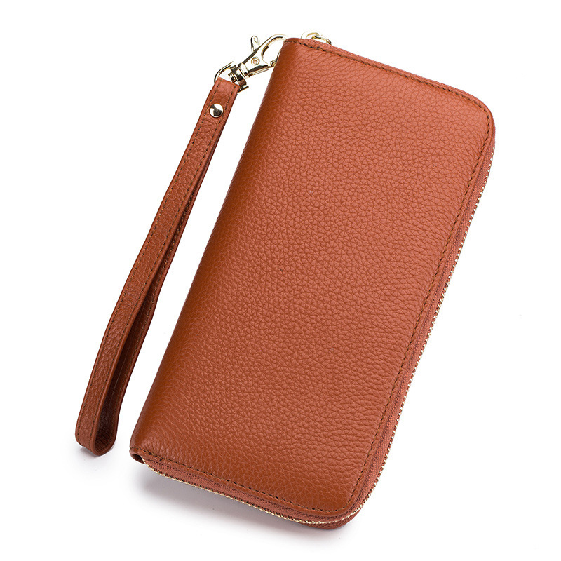 RFID Casual Fashion Women Wallets Long Style Wallet Leather Female Clutch Card Holder Tassel Zipper Coin Purse Carteira Feminina