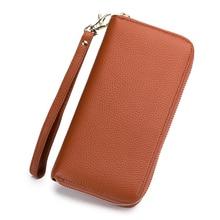 RFID Casual Fashion Women Wallets Long Style Wallet Leather Female Clutch Card