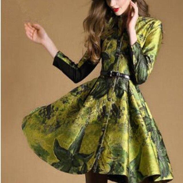 Осенью новый женская одежда Европа и соединенные Штаты большой магазин знак однобортный развивать нравственность пальто