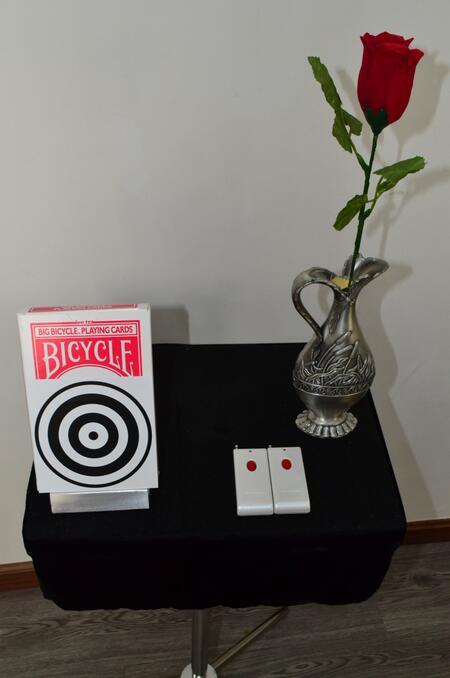 Télécommande Sidekick Jumbo Et Briser le Verre de Table Combinaison Deux Dans Une Grande Scène accessoires de magie professionnel des tours de magie