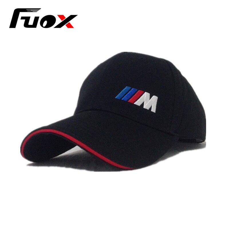 The M logo cotton sports Golf outdoor baseball cap hat simple solid for the BMW E30 E34 E36 E38 E39 E93 F10 F20 F30 X1 X3 X5 X6