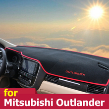 Auto cruscotto Evitare pad luce Strumento di copertura piattaforma scrivania Stuoie Tappeti Per Mitsubishi Outlander 2013 2014 2015 2016 2017 2018