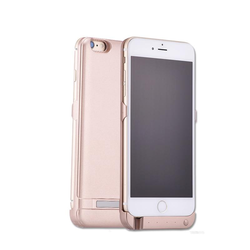 Цена за Банк силы Случай Телефон случаях Внешняя Батарея Резервного Копирования Дело Зарядное Устройство Для iPhone 7 iphone7 ip7 10000 мАч Питания Чехол