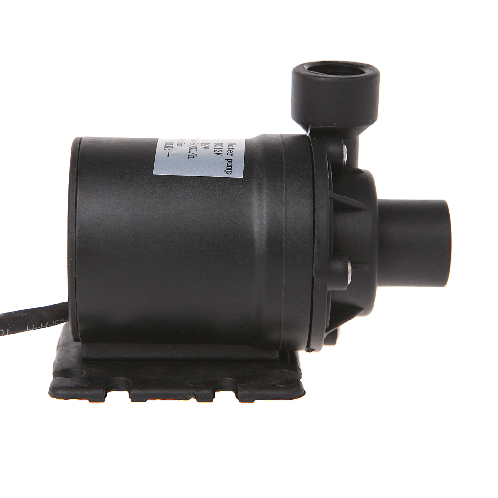800L/H 5m DC 12V Solar Brushless Motor Water Circulation Water Pump with 4p plug