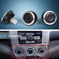 Auto Accessory Heat Control Knob Car Air Conditioning Knob AC Knob For Honda City 3Pcs Per Set Aluminum Alloy