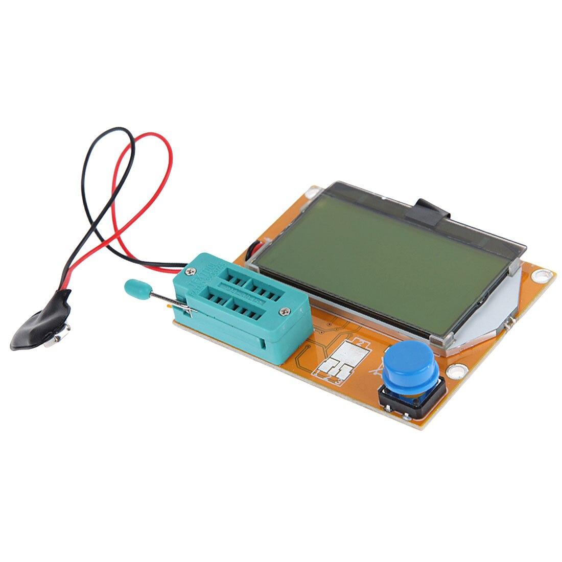Digital LCR Mega328 V2 68 ESR-T4 Diode Triode Capacitance MOS/PNP/NPN LCR  12864 LCD Screen Tester ESR Meter Transistor Tester
