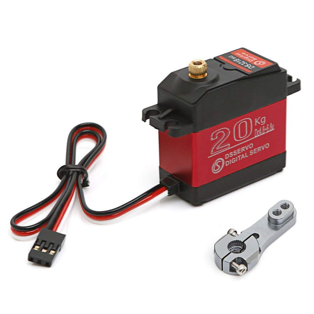 DS3218 270 Degree Digital RC Servo 20KG Torque Waterproof Metal RC Servo Motor For dropshipping new arrival (China)