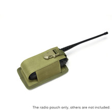 Multifunctionele Radio Telefoon Holster Draagbare Interphone Pouch Houder Radio Molle Pouch Houder Attachment Outdoor Hunting Bag(China)