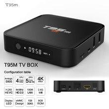 ТВ-приставка IP TV Box 4 Гб Ram с bluetooth Android Amlogic S905X 64 бит Восьмиядерный 2 ГБ 8 ГБ 2,4g wifi BT4.0 LAN1000M 4 K телеприставка