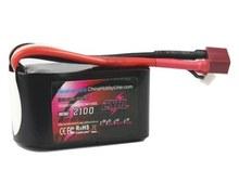 CNHL RX PACK 2100mAh 7.4V 2S3P 6C Li-Po Battery  for RC Hobby free shipping