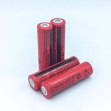 6 шт./лот Высокая Производительность F68 18650 Батареи 3.7 В Литий-Ионная Аккумуляторная Батарея для Светодиодный Фонарик Игрушки Камеры Оптовая