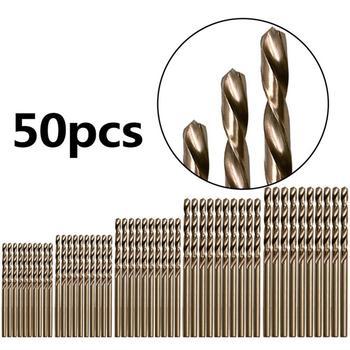 HSS Cobalt Twist เจาะชุด Bit HSS M35 Co เจาะ 1 มม.1.5 มม.2 มม.2.5 มม.3 มม.used สำหรับเหล็กสแตนเลส