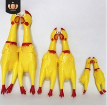 Screaming Chicken Squeeze Sound Toy Pets Dog Toys Product Shrilling Decompression Tool Squeak Vent Funny gadgets