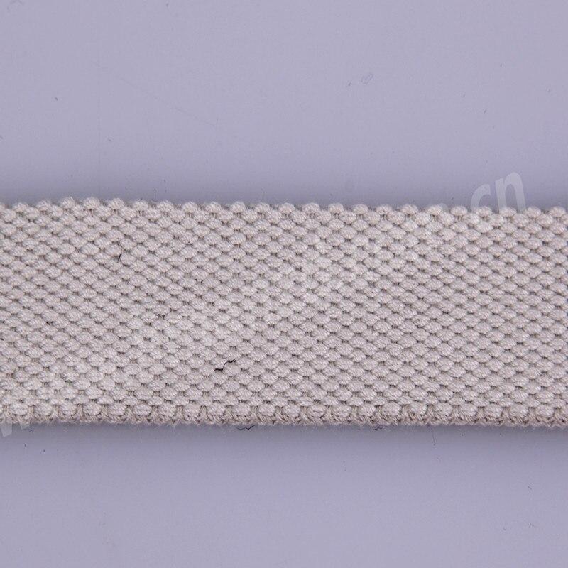 Prodaje se 1,2-inčni sivi bijeli pamučni remen za muškarce, - Umjetnost, obrt i šivanje - Foto 4