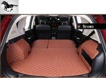 Topmats авто коврик багажного отделения крышка загрузки лайнеров черный грузового лайнера для Audi Q7 5 Мест