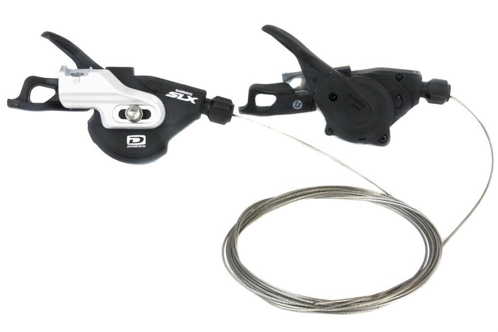 Shimano Deore XT SL-M8000 Rapidfire Plus 2//3S  I-Spec-B Left W//O Mounting Bolts