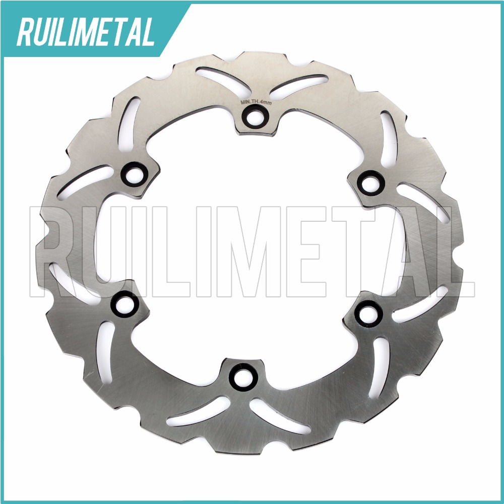 Rear Brake Disc Rotor for HONDA  SH i/ ABS scooter 300 VFR 750 F Interceptor CBR 1000 F 1993 1994 1995 1996 1997 93 94 95 96 97 rear brake disc rotor for ducati junior ss 350 m monster 400 ss supersport 1992 1993 1994 1995 1996 1997 92 93 94 95 96 97