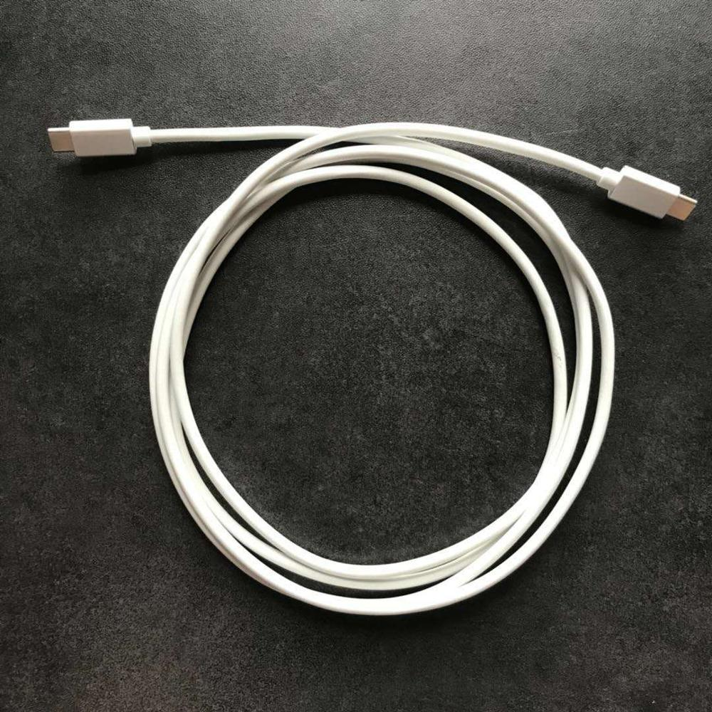 все цены на 2018 New Arrival! Genuine 2m USB-C Tip Type Cable Cord FOR Apple Macbook 29W 61W 87W Power Adapter Chargers