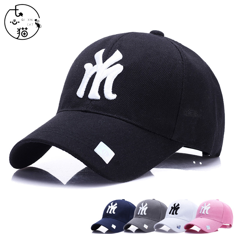New NY Embroidery Baseball Cap Snapback Trucker Dad Hat Women Men Punk Hiphop Hat High Quality Adjustable Gorras NY Casquette