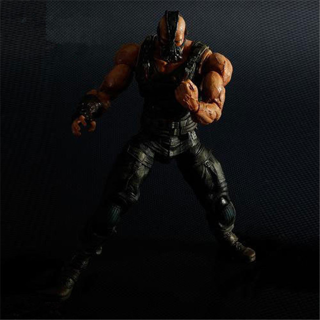 24CM Anime figure The Dark Knight Rises Bane action figure collectible model toys for boys transformation robot the last night age of extinction deluxe class figure dark guard exclusive collectible toys