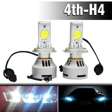 62W 6400LM cool White 6500K with 2*high power Cree MT-G2 LED Headlight Conversion Kit Lamp Bulb H4/9003/HB2 High Low