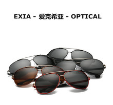 Men Colors Sunglasses Polarized UV400 Anti-Reflective Blue Coatings Brand EXIA OPTICAL KD-8116 Series