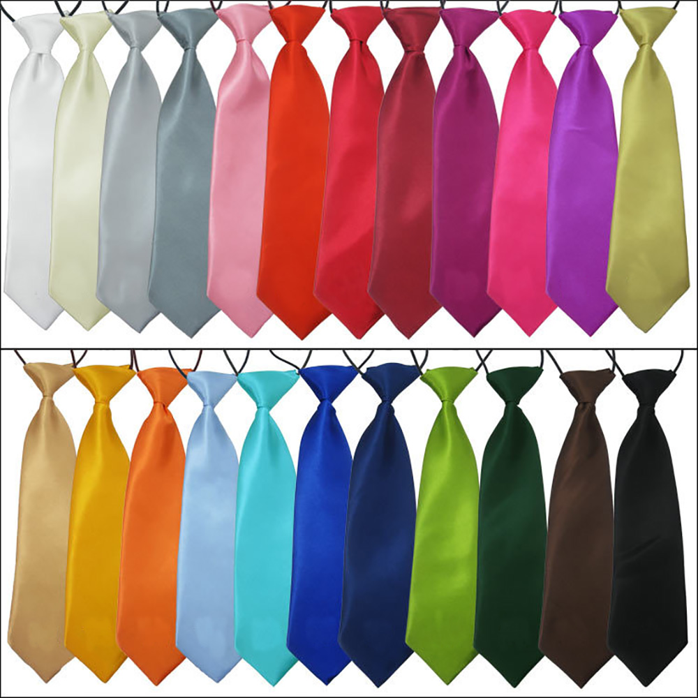 80X Pet Large Dog Neck Ties Dog Collar Dog Grooming Accessories for Medium Large Dogs
