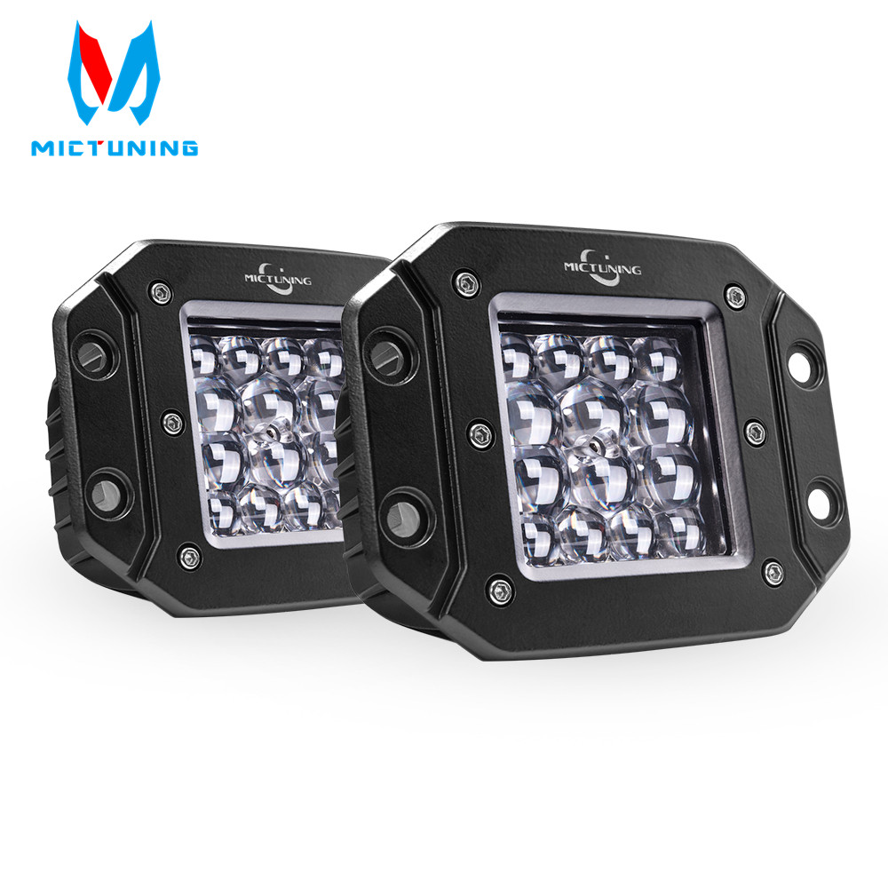 Mictuning 2pcs 5 42W LED Light Spot Beam for Philips chip LED Light Bar Driving Lights Waterproof Led Work Fog Lights for TruckMictuning 2pcs 5 42W LED Light Spot Beam for Philips chip LED Light Bar Driving Lights Waterproof Led Work Fog Lights for Truck