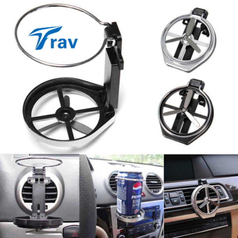 Car SUV Vehicle Folding Beverage Drink Bottle Can Coffee Cup Mount Stand Holder