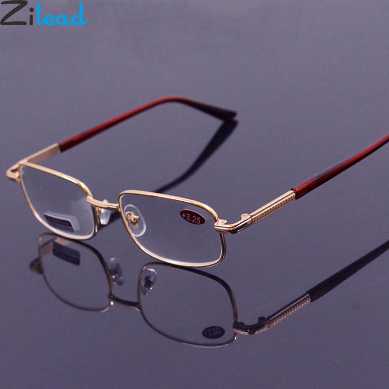 Zilead Men Glass Reading Glasses Presbyopic Eyewear0.5 0.75 1.0 1.25 1.5 2.0 2.25 2.5 2.75 3.0 3.25 3.5 3.75 4.0 4.5 5.0 Unisex Men's Glasses