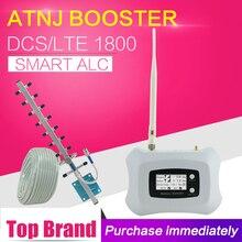 300 metr kwadratowy 2G 4G LTE 1800 komórka wwmacniacz sygnału telefonu GSM 1800 telefon komórkowy Repeater telefon komórkowy wzmacniacz komórkowy 4G antena