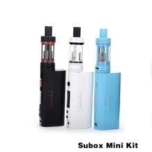 100%เดิมkanger suboxมินิชุดเริ่มต้นชุดบุหรี่อิเล็กทรอนิกส์กับ4.5มิลลิลิตรsuboxมินิ50 wTemperatureควบคุมE-บุหรี่