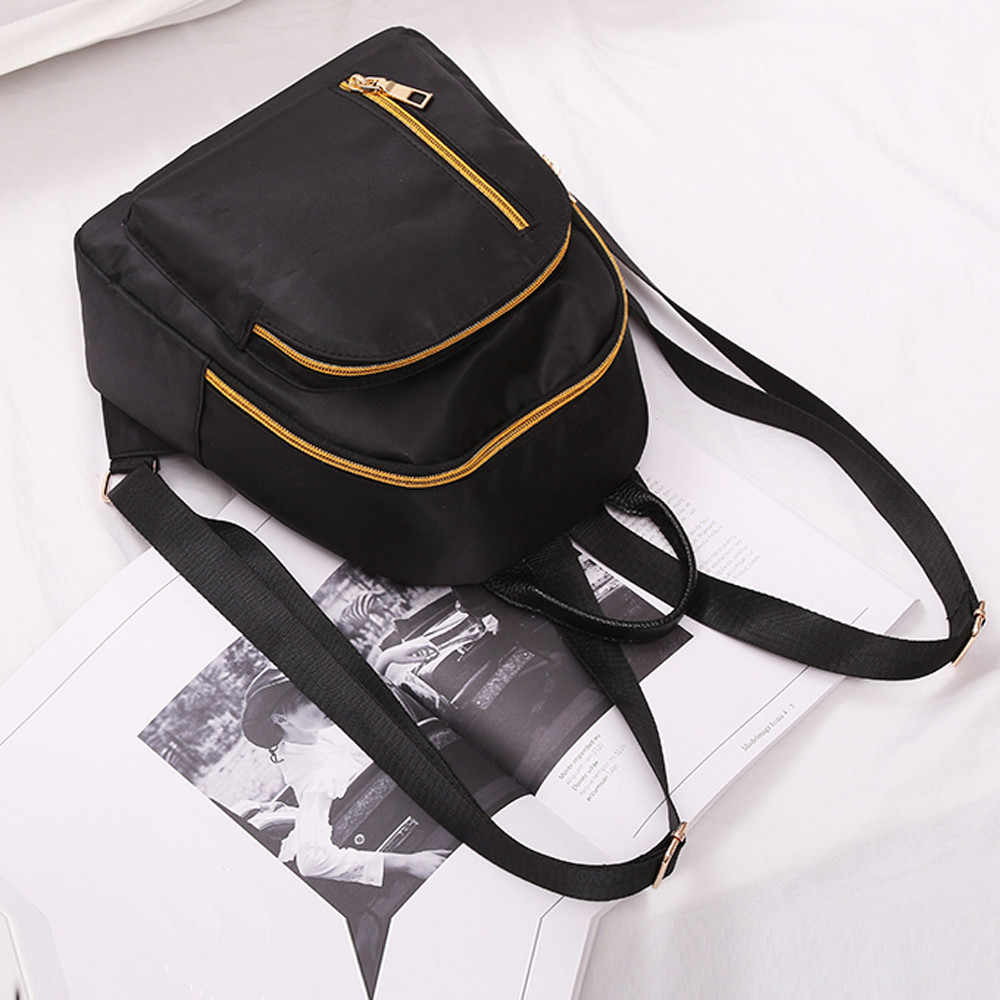 メゾン Fabre バックパック女性の学校のバックパック十代の少女女性オックスフォード布バックパック学生かばん旅行リュックサックバッグ
