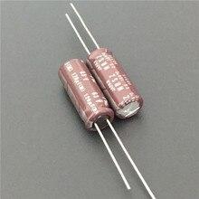 100pcs 120uF 63V Japan NIC NRSZ Series 8x20mm Very Low Impedance 63V120uF Aluminum Electrolytic capacitor