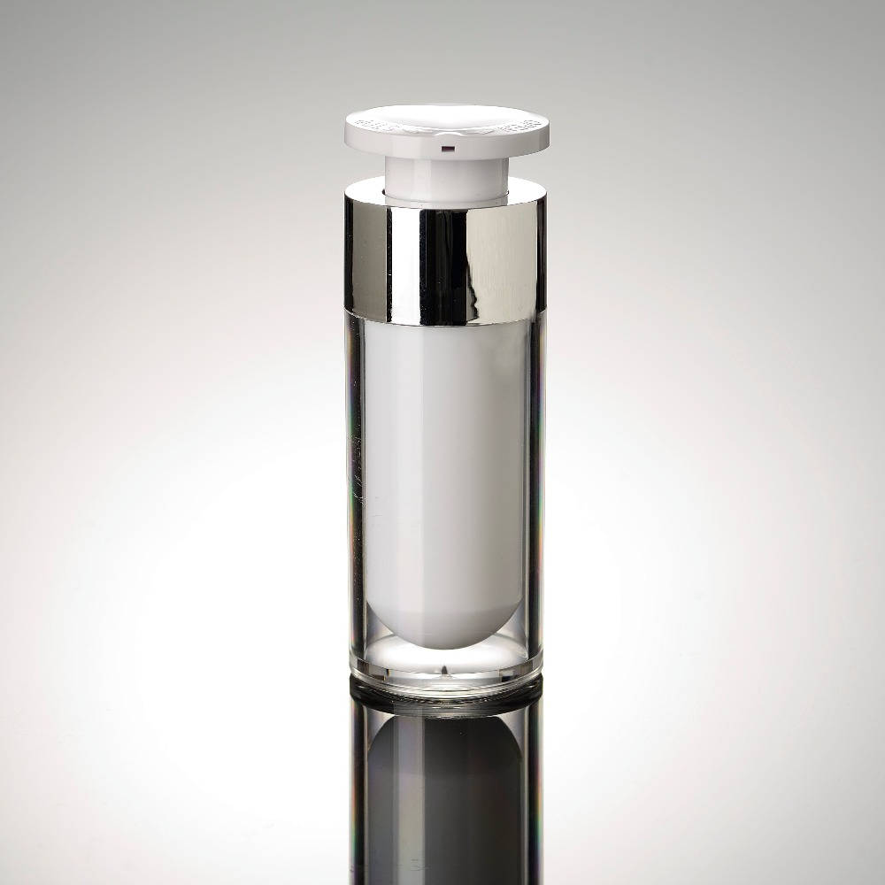 30ml lock head acrylic airless vacuum pump lotion bottle used for serum lotion emulsion foundation Cosmetic