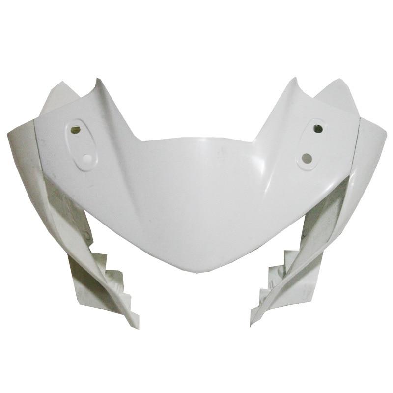 ABS Unpainted Upper Front Fairing For HONDA CBR 250 2011 - 2012 CBR-250 ABS unpainted white injection molding bodywork fairing for honda vfr 1200 2012 [ck1051]