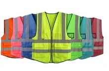 Reflective vest/ reflective security clothes/ The sanitation reflective security vest/ The site visitors vests