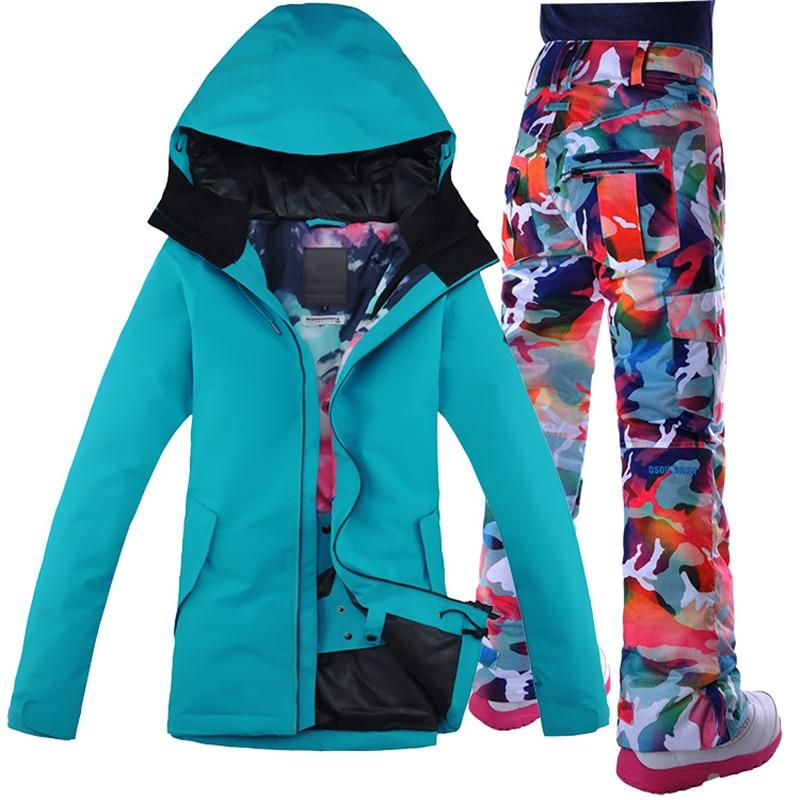 Picture manteau ski femme