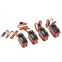 KST X20 Helicopter Brushless Servo Combo Pack X20 COMBO(Titanium Gear)2208 x3 with 1035 x1
