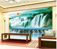 3d wallpaper for room custom 3d wallpaper Mountain river waterfalls water backdrop decorative painting photo 3d wallpaper